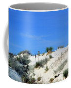 Rippled Sand Dunes In White Sands National Monument, New Mexico - Newm500 00106 Coffee Mug
