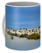 Rippled Sand Dunes In White Sands National Monument, New Mexico - Newm500 00114 Coffee Mug