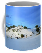 Rippled Sand Dunes In White Sands National Monument, New Mexico - Newm500 00119 Coffee Mug