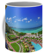 Ritz-carlton Aruba Coffee Mug by Scott McGuire