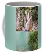 River Neda Waterfalls Coffee Mug