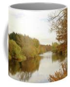 river Teviot at dusk Coffee Mug