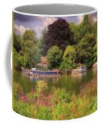 Riverbank Coffee Mug by Leigh Kemp