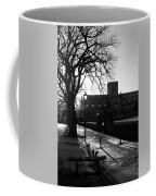 riverside walk in Haddington on winters morning Coffee Mug