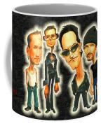 Rock N' Roll Warriors - U2 Coffee Mug