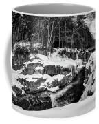 Rocky Gorge Foot Bridge N H Coffee Mug