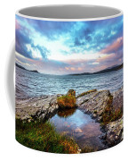 Rocky Pools Of Salty Sea Coffee Mug
