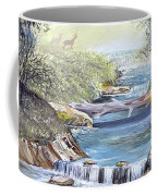 Rocky Stream Coffee Mug by Deleas Kilgore