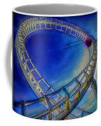 Roller Coaster Ocean City Md Coffee Mug by Paul Wear