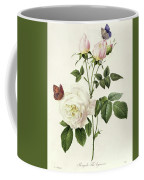 Rosa Bengale The Hymenes By Redoute Coffee Mug