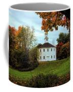Round Church Of Richmond Vermont Coffee Mug by Jeff Folger
