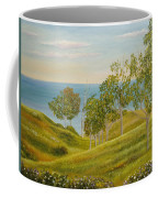 Beachhead Of Eucalyptuses Coffee Mug by Angeles M Pomata