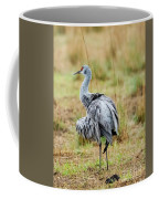 Ruffled Crane Coffee Mug