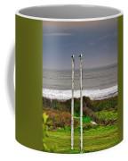 Rugby Goal - Hokitika - New Zealand Coffee Mug