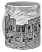 Ruins Of A Cathedral, Elgin Cathedral Coffee Mug