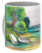 Safe Mooring-whangamata Harbour. Coffee Mug