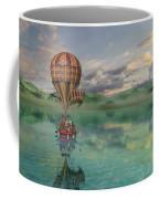 Sailing Away Daydream Steampunk Coffee Mug