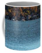 Salem Derby Wharf Lighthouse Flooded Coffee Mug by Jeff Folger