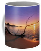 Salisbury Beach Sunrise Coffee Mug by Michael Hubley