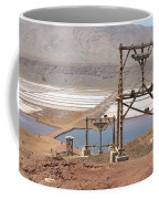 Salt Pans And 200 Yr Old Cable Car Winches Coffee Mug