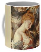 Samson And Delilah, Detail Of Delilah Coffee Mug