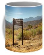 San Andreas Fault Coffee Mug