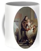 San Antonio De Padua Con El Nino Jes  S   Coffee Mug