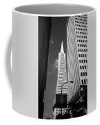 San Francisco - Transamerica Pyramid Bw Coffee Mug