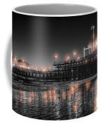 Santa Monica Glow By Mike-hope Coffee Mug by Michael Hope