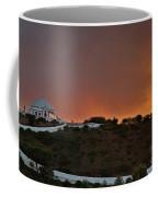 Santuario De Nossa Senhora Da Piedade At Sunset In Loule Coffee Mug