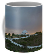 Santuario De Nossa Senhora Da Piedade Welcoming Twilight In Loule Coffee Mug