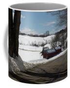 Sap Buckets Ready At The Jenne Farm Coffee Mug by Jeff Folger