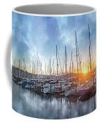 Sausalito California Morning Airs Coffee Mug