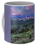 Sawtooth Sunrise Coffee Mug