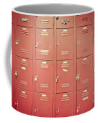 School Lockers Coffee Mug