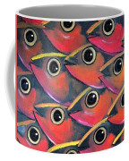 School Of Eyes Coffee Mug
