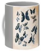 Scrapbook Butterflies Coffee Mug