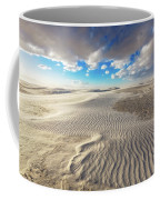 Sea Of Sand - Endless Dunes At White Sands New Mexico Coffee Mug