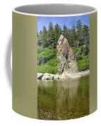 Sea Stack At Ruby Beach  Coffee Mug