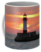 Seagulls And Sunrise Coffee Mug