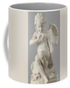 Seated Cupid, 1757 Marble Coffee Mug