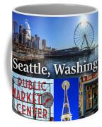 Seattle Washington Waterfront 01 Coffee Mug