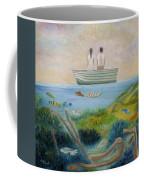 Seeing Through Coffee Mug by Angeles M Pomata