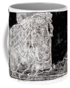 Self In Black Coloured Oil Transfer Drawing 11 Coffee Mug