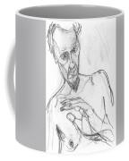 Self-portrait Pencil Reach 11 Coffee Mug