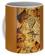 Sentimental Writings Coffee Mug