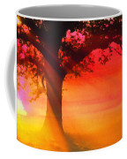 Shade Tree At Dawn Coffee Mug