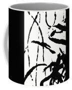 Shadow Abstract 2- Art By Linda Woods Coffee Mug