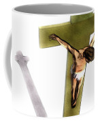 Shadow Of The Cross Coffee Mug