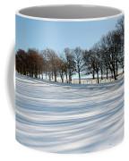 Shadows In The Snow Coffee Mug